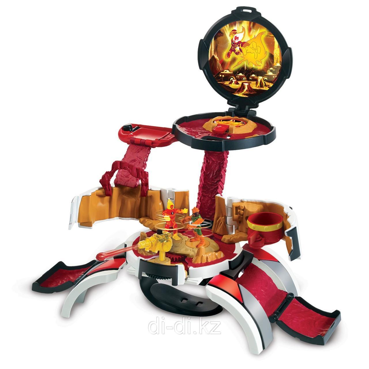 """Ben 10 Игровой набор """"Микро мир Человек-огонь"""""""