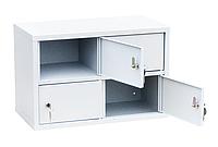 Шкаф индивидуального хранения горизонтальный 4 ячейки (600х310х400) арт. ИШК 4