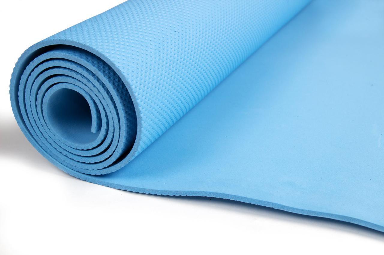 Коврик для йоги и фитнеса - фото 1
