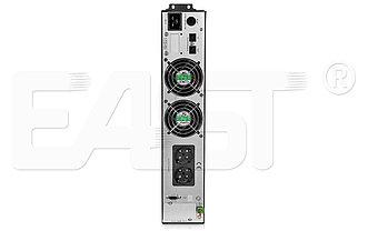 Источник бесперебойного питания, EA600 RT, 3000ВА/2400Вт, в универсальном корпусе RT (башня/стойка), фото 2