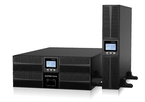 Источник бесперебойного питания, EA900 G4 RT, 10кВА/10кВт, в универсальном корпусе RT (башня/стойка), фото 2
