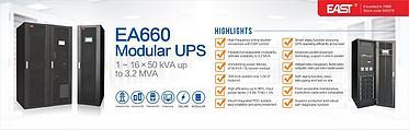 Источник бесперебойного питания, EA660, 600кВА/600кВт, 380В, фото 3