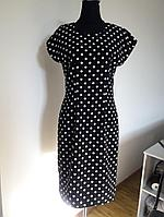 Классическое платье в горошек