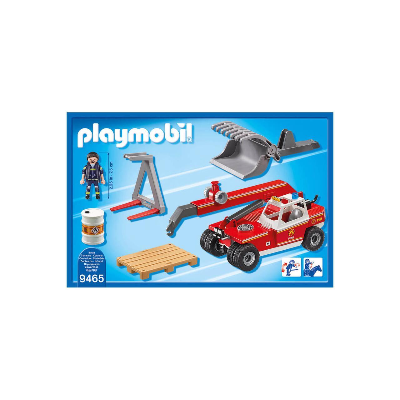 Конструктор Playmobil Пожарная служба: Пожарный Кран 9465pm - фото 2