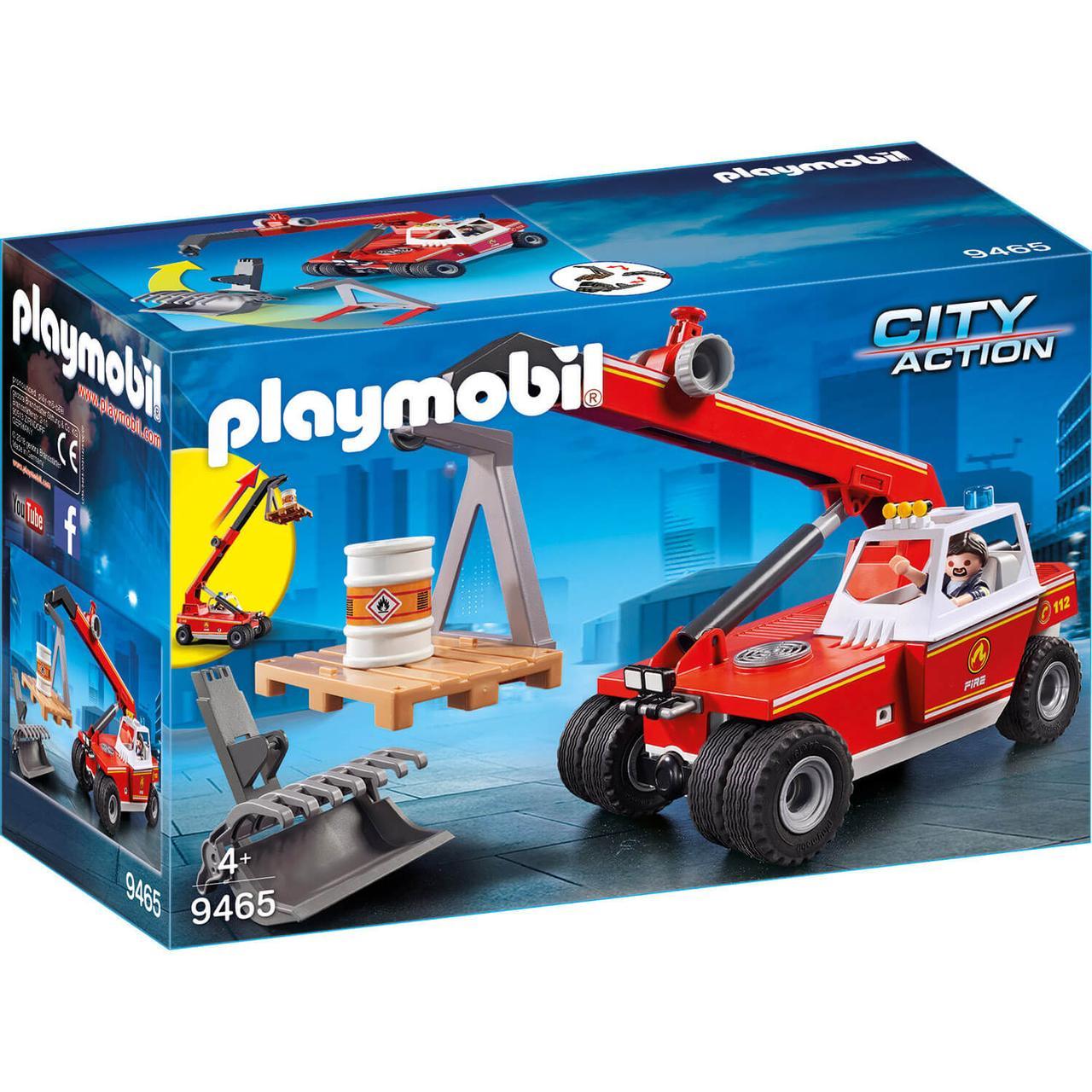 Конструктор Playmobil Пожарная служба: Пожарный Кран 9465pm - фото 1