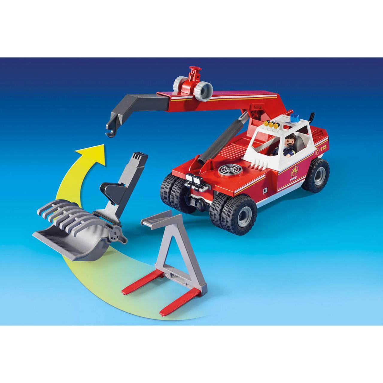 Конструктор Playmobil Пожарная служба: Пожарный Кран 9465pm - фото 3