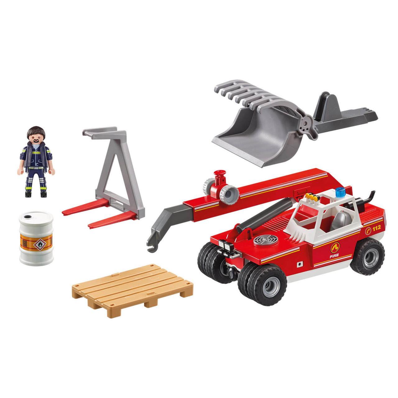 Конструктор Playmobil Пожарная служба: Пожарный Кран 9465pm - фото 4
