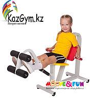 Детский тренажер Разгибание ног 5-8 лет (MF-E01), фото 1