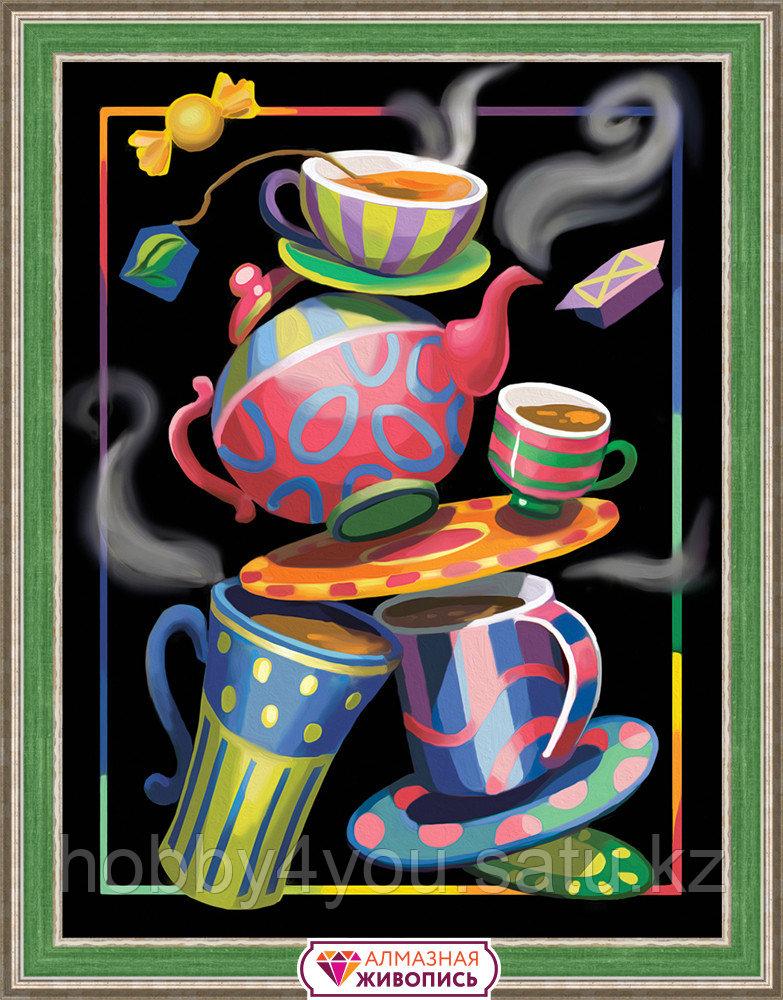 """Картина стразами """"Чайная фантазия"""", 30*40см"""