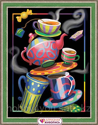 "Картина стразами ""Чайная фантазия"", 30*40см, фото 2"