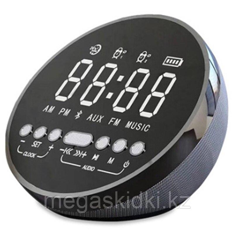 Портативная колонка Bluetooth - LED часы bY2280