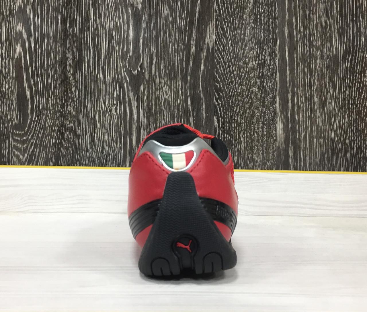 Кроссовки Puma Ferrari Future Cat M2 SF (Red) - фото 3