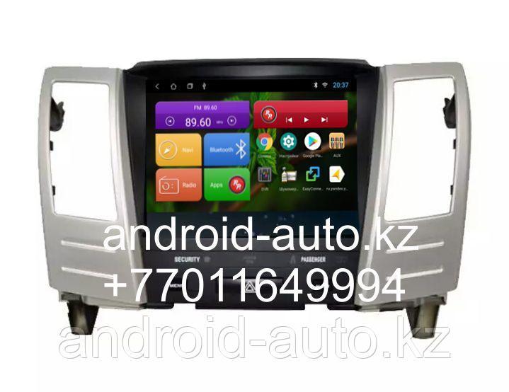НОВИНКА Только У НАС !!! Верхний Штатный экран-магнитола на Lexus RX300 RX330 RX350 2003-2008