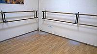 Хореографический (балетный) станок двухрядный настенный 3м