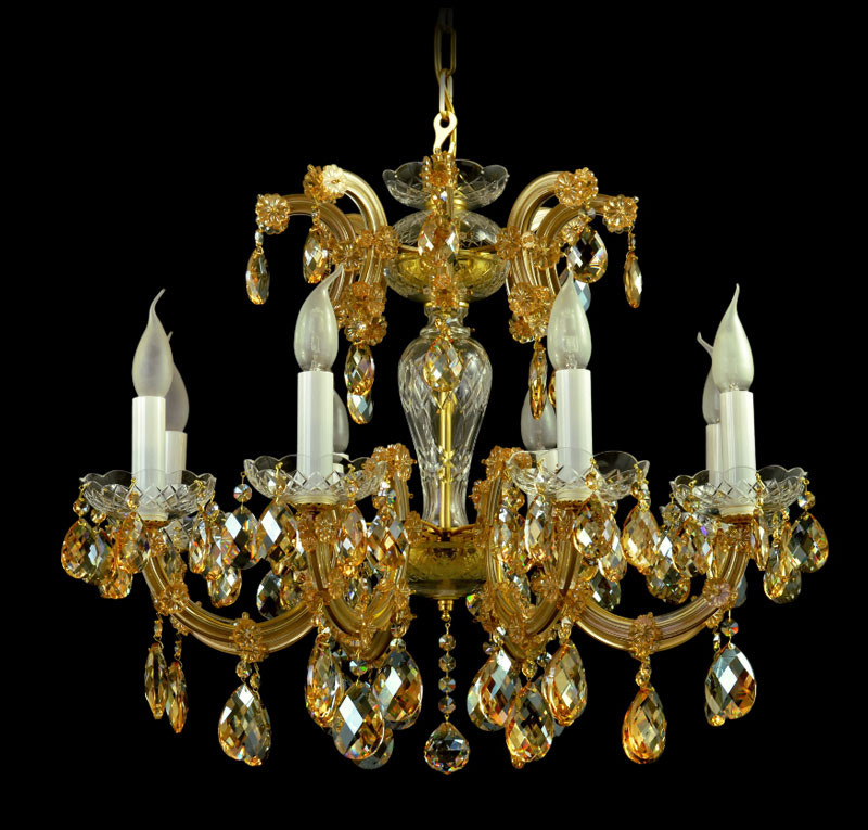 Люстра хрустальная HERMAN Lighting, Чехия AM5235/03/008 MT Christina 8 ls-1308552/k1505306