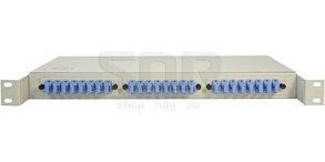 Полка оптическая R19-24-SC/UPC-SM