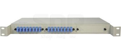 Полка оптическая R19-16-SC/UPC-SM