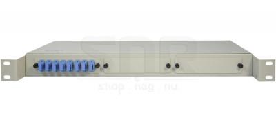 Полка оптическая R19-8-SC/UPC-SM