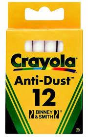 Crayola Мелки12 белые