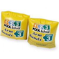 Нарукавники для плавания POOL SCHOOL 20х15 см 3-6 лет Intex , фото 1