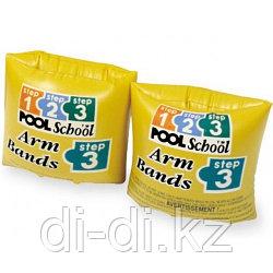 Нарукавники для плавания POOL SCHOOL 20х15 см 3-6 лет Intex
