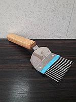 Вилка пчеловодная, нержавеющая сталь, фото 1