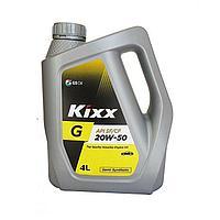 Моторные полуситетические масла для бензиновых двигателей KIXX G SF/CF 20W-50 4 л.