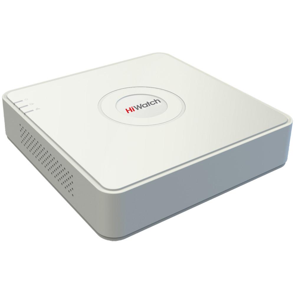 4 канальный гибридный видеорегистратор HiWatch DS-H 104G