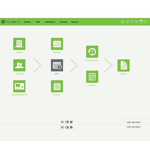 Программное обеспечение ZKTeco ZKTime.Net 3.0