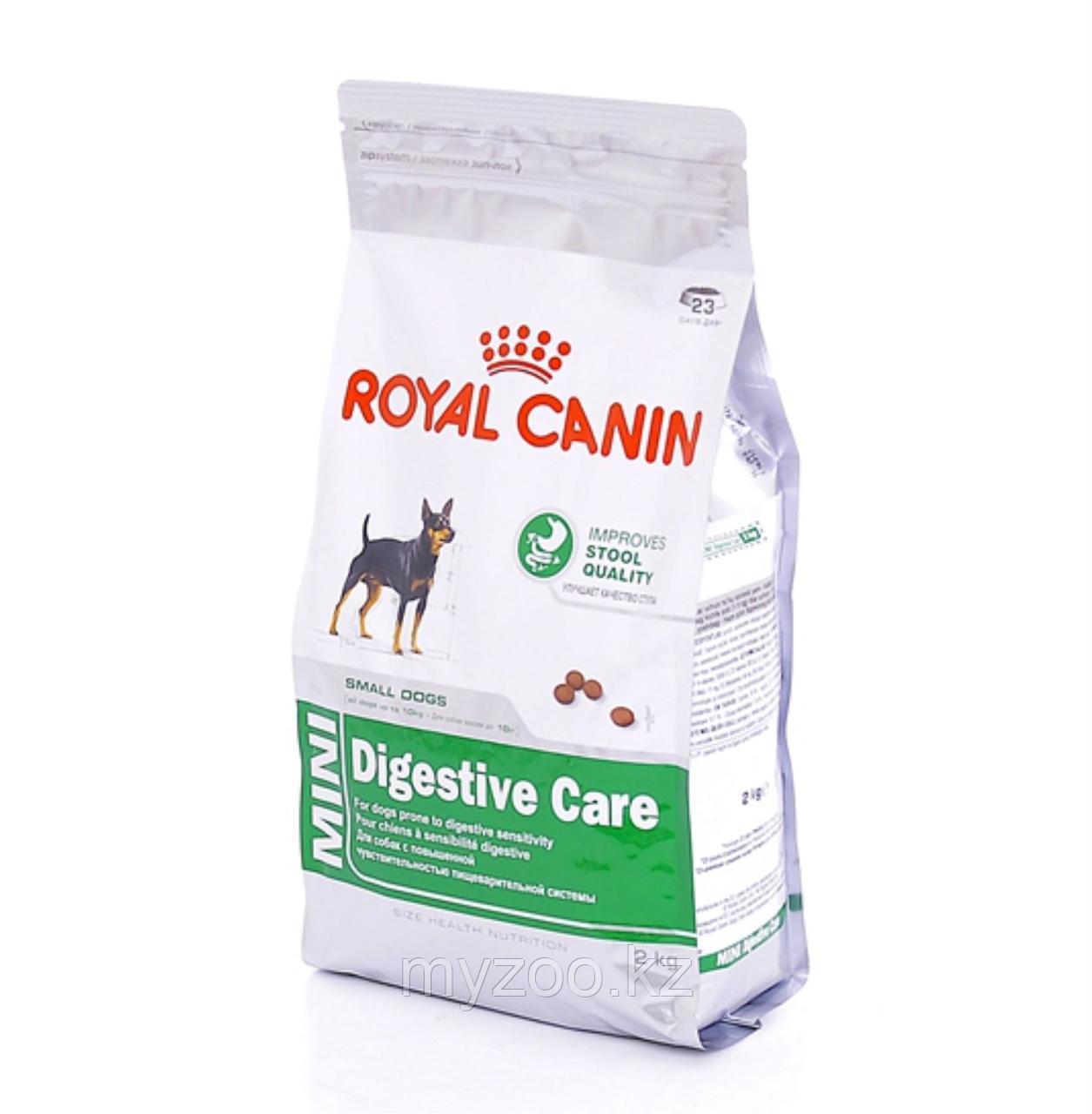 Royal Canin MINI DIGESTIVE CARE, 10 kg. Корм для взрослых собак мелких пород с чувств. пищев. до 10 кг.