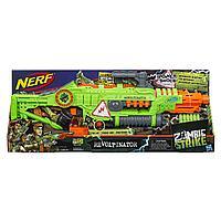 Бластер NERF Revoltinator Nerf Zombie Strike с мотором-бластером и 18 дротиками