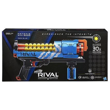 Нёрф бластер Nerf Rival Artemis XVII-3000 Синий бластер с 30 раундами