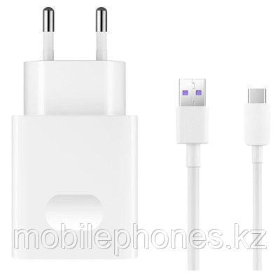 Оригинальное зарядное устройство Huawei 18W USB 2A + каб.Type-C.