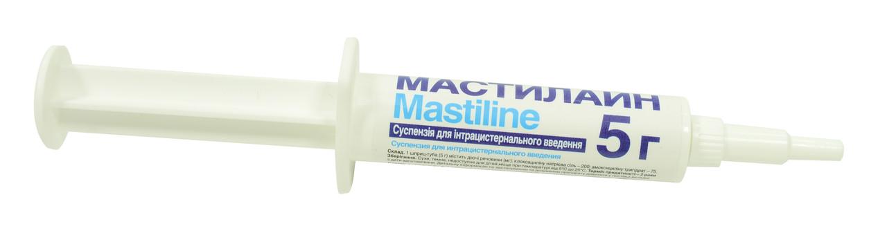 Мастилайн шприц 5г (суспензия для интрацистернального введения)