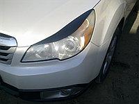 Реснички на фары Subaru legacy 2009-2014 , фото 1
