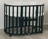 Кроватка-трансформер UOMО DA VINCI 7 в 1 Венге, фото 1