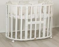 Кроватка детская Uomo Da Vinci 7 в 1 Белый, фото 1