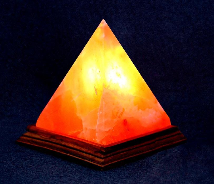 Соляная лампа - Пирамида