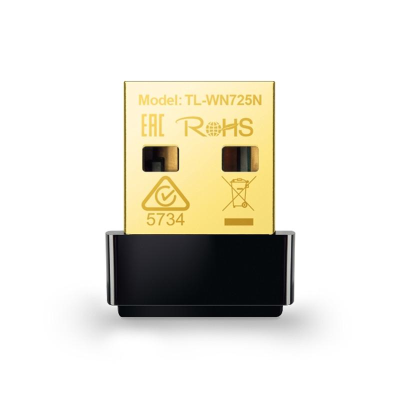 Беспроводной Nano USB-адаптер TP-Link TL-WN725N (RU)