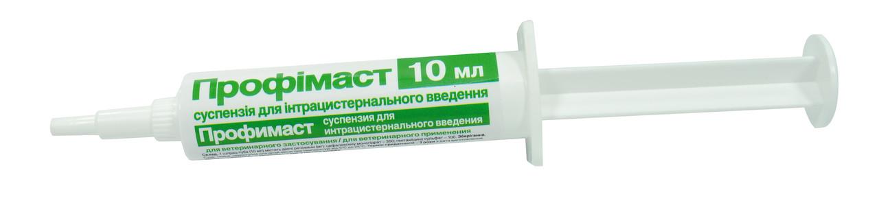 Профимаст шприц от мастита с цефалексином и гентамицином 10гр