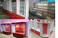 Торговое оборудование: витрины, островки, витрины для магазина, аптек и бутика