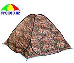 Палатка автоматическая камуфляжная 3 местная 200*200*130см, фото 2