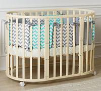 Детская кроватка Incanto Mimi 7 в 1 с маятником
