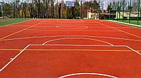 Тартановые резиновые покрытия для спортивных площадок