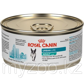 Влажный корм для взрослых собак Royal Canin URBAN LIFE ADULT 10*150 g