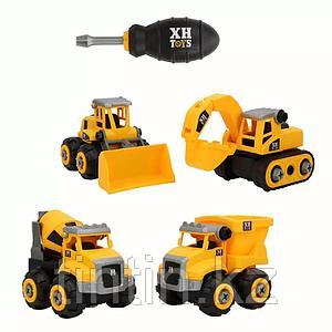 Набор из 4 строительной техники