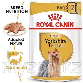 Влажный корм для собак породы йоркширский терьер YORKSHIRE TERRIER 1*85g