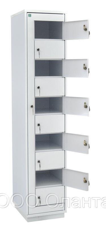 Шкаф металлический абонентский 10 ячеек (380х450х1820) арт. ША 10