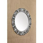 Овальное зеркало настенное 73х58 см цвет серебристый, CLK886