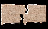 Сайдинг Stone house камень золотистый